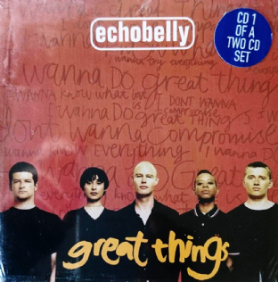 Echobelly ‎- Great Things (CD Single Pt 1) (M/EX-)